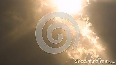 印度卢迪亚纳地区景观突变移动云 股票视频