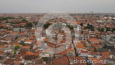 印度尼西亚东爪哇省泗水市 影视素材