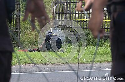印度尼西亚拆弹小组 编辑类照片