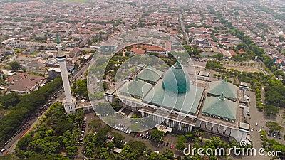 印度尼西亚泗水阿克巴清真寺 股票视频