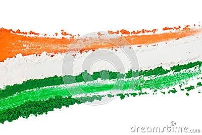 印第安三色