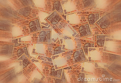 印第安卢比货币