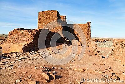 印第安废墟