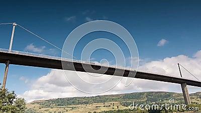 厄斯金桥梁,苏格兰时间间隔  股票录像