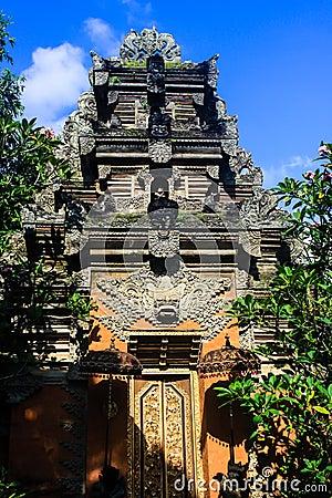 巴厘岛Tempel在Ubud