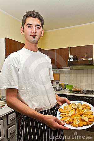 厨师年轻人