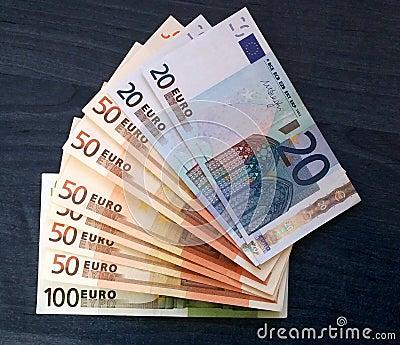 发单欧元图片
