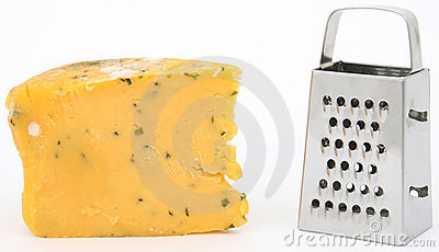 发霉干酪的磨丝器