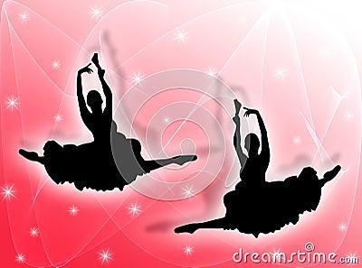 古典舞蹈演员星形图片