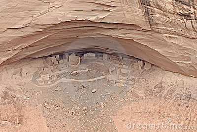 古老印第安那瓦伙族人村庄