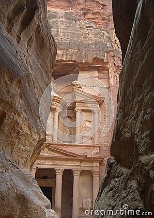 古老城市petra
