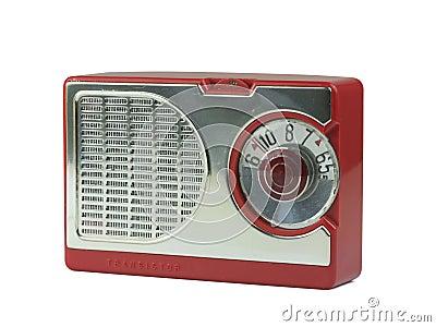 古色古香的晶体管收音机图片