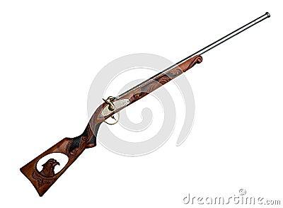 古色古香的枪