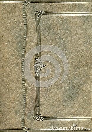 古色古香的盖子框架照片