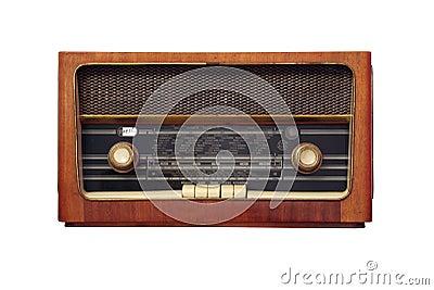 古色古香的老收音机图片