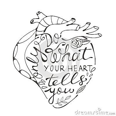 只做什么您的心脏告诉您