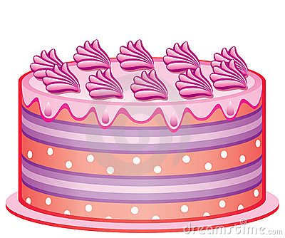 可口的蛋糕