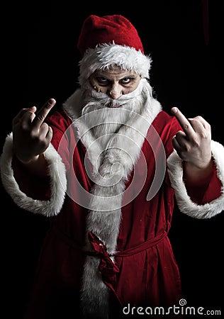 可怕的圣诞老人