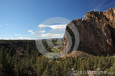 史密斯岩石国家公园- Terrebonne,俄勒冈