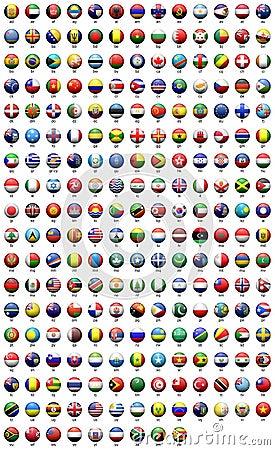 世界的旗子