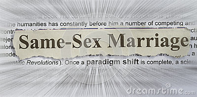 同性的婚姻