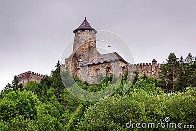 哥特式城堡Stara Lubovna