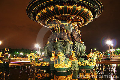 喷泉法国巴黎海运