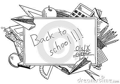 回到学校主题