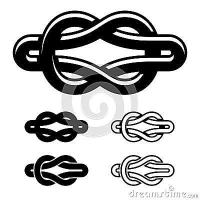 团结结黑色白色标志图片