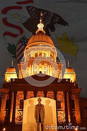 国会大厦伊利诺伊状态