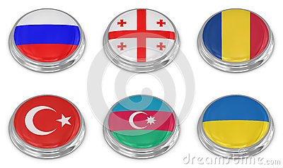 国家标志图标集