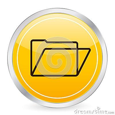 圈子文件夹图标黄色