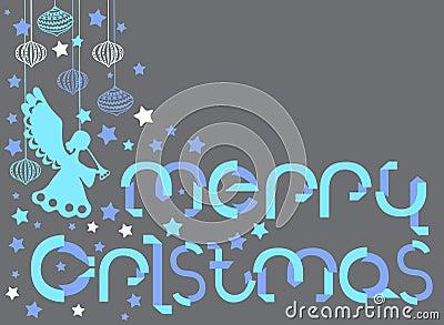 圣诞快乐看板卡