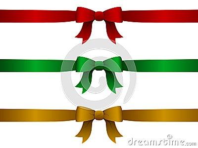 圣诞节丝带