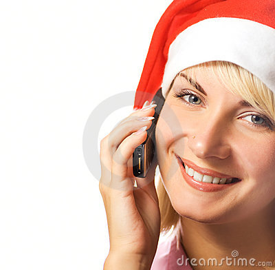 圣诞节女孩