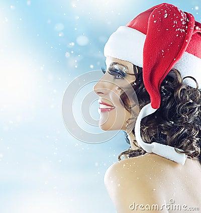 圣诞节妇女