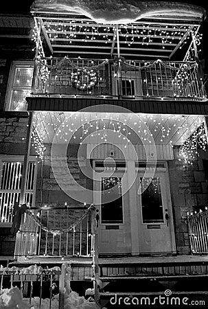 圣诞节房子