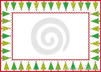圣诞节框架结构树