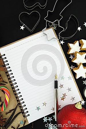 圣诞节食谱书