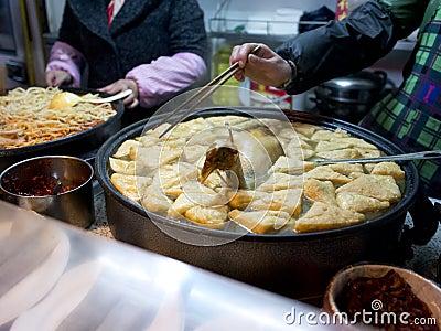 在南京fuzimiao的著名快餐