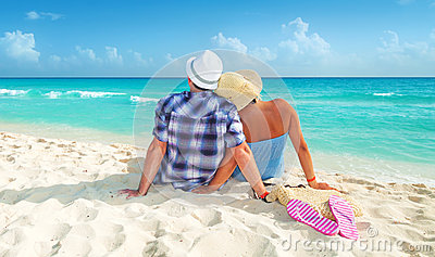 在度假的夫妇