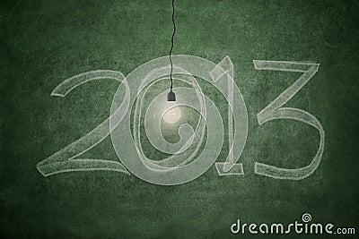 在2013年的明亮的远期