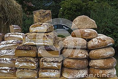 在Wawel城堡旁边的市场 图库摄影片