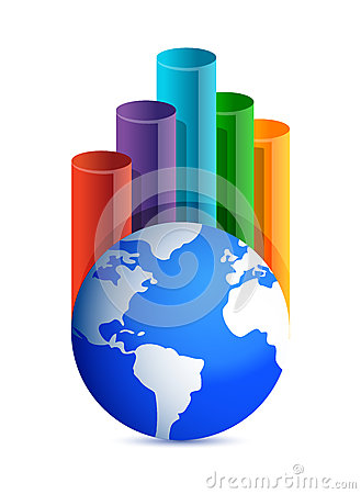 地球企业图形
