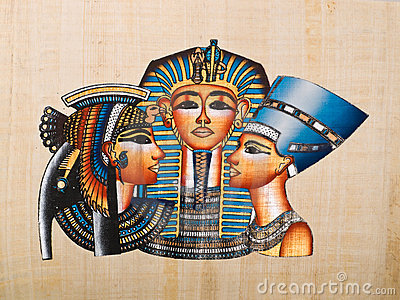 cleopatra nefertiti法老王女王/王后陈列tutankhamen.