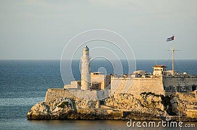 城堡古巴哈瓦那morro