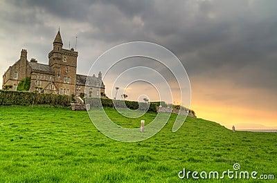 城堡classiebawn
