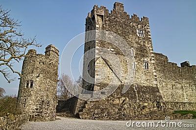 城堡medievial罗斯