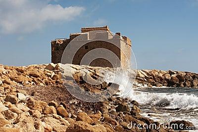 城堡paphos