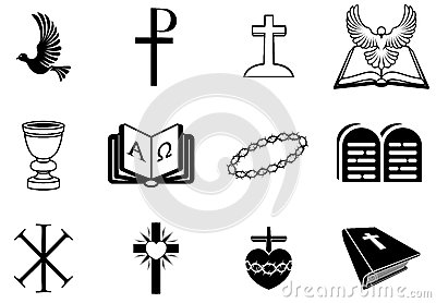基督徒宗教标志和标志